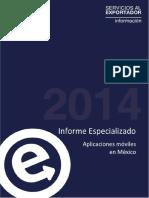 Informe Especializado Aplicaciones Mobiles