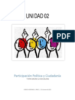 Unidad 02 - Participacion Ciudadana