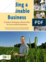 Sustainable Business Plan Workbook Activity