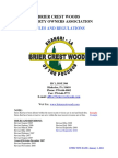 BCW Rules and Regulations