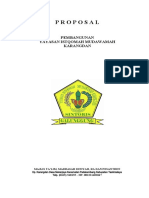 Proposal PEMBANGUNA MADRASAH DT.ii