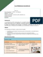 Los sistemas  mecánicos.doc