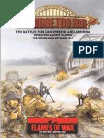 Flames of War - A Bridge Too Far