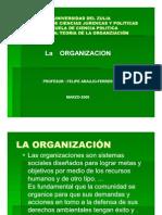 TEORIA DE LA ORGANIZACIÓNTERCER MATERIAL