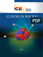 Clocks in Rocks? - ICR