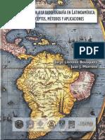 2001 Llorente, J. Libro - Introducción Biogeografía