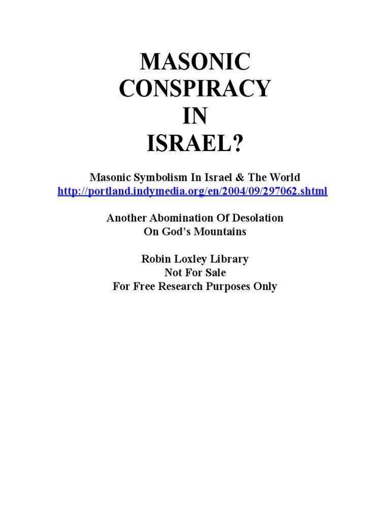 Masonic Symbolism In Israel Masonic Lodge Freemasonry