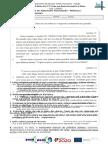 Teste Módulo 1 - Português 10º ano