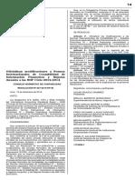 Resolución 057-2014-EF-30, Pub 19 Dic 2014, Modificaciones