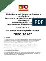 Convocatoria IIª Bienal de Fotografía Oaxaca