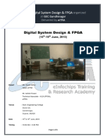 Workshop on Digital Design With FPGA Organized by EiTRA