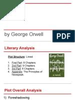 George Orwell's 1984 Book Analysis (2014)