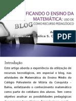 Desmistificando o Ensino da Matemática - Cosmerina.ppt