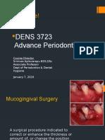 Mucogingival Surgery I