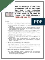 Detailed Agenda of CA Keshav Garg