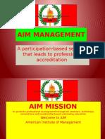 Aim Management