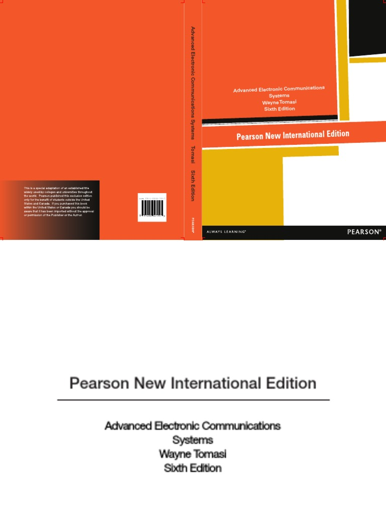 283480413-International-Edition-Wayne-Tomasi-Advanced-Electronic- Communications-Systems-Pearson-2013 (1).pdf | Optical Fiber | Refraction
