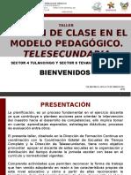 Taller El Plan de Clase en El Modelo Pedagógico Etc