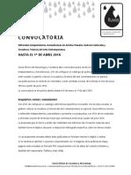Convocatoria propuestas de Editoriales  Independientes y Autoediciones
