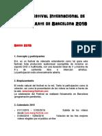 IX Festival Internacional de Video Arte de Barcelona 2016