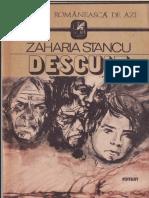 Zaharia Stancu - DeSCULŢ