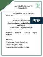 Hipotiroidismo Doc WORD