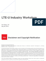 Lte-u Introduction May 28 2015