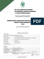 Format Buku Log Pkm INTERNSIP DOKTER