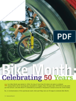 50 ways to celebrate bike month