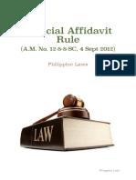 234751083 Judicial Affidavit Rule