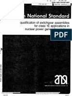 ANSI_IEEE C37.82-1987 Qualification of Swich Gear for 1 E Application