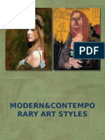 Modern and Contemporary Art Styles