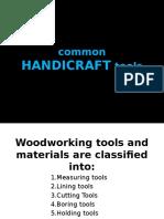 COMMON Hadicraft Tools