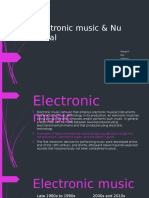 Electronic Music & Nu Metal