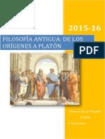 Introducción a la Filosofía Griega