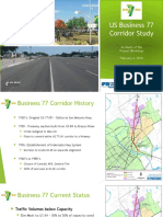 US Business 77 Corridor Study