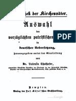 Jerónimo Bibliothek Der Kirchenväter Vol 16 1872