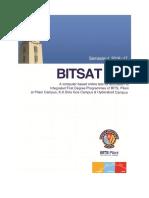 BITSAT2016 Brochure