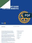 Quick Start Guide For Club Websites [547F-EN715]