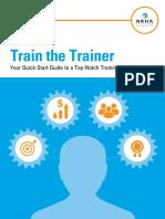 2016 Train the Trainer