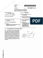 EP 00880311 A1 Electromagnetic Shielding Device
