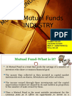 Mutual Funds Industry