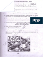 Last Year Term II Question Papers Std 8 2015-2016
