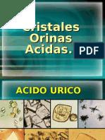 CRISTALES EN ORINAS ACIDAS Y ALCALINAS