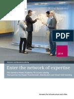 SiemensPowerAcademyTD Katalog en 2014