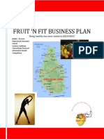 Fruit Business Plan