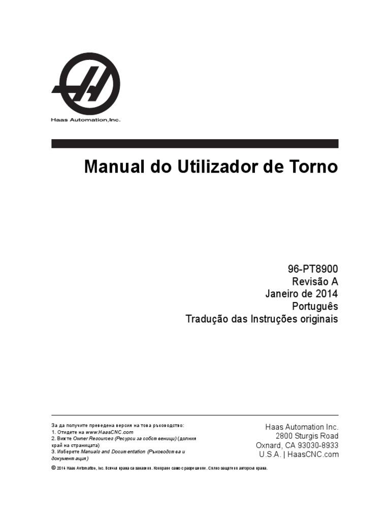 8cad9a838b7b3 Manual de utilizador de torno