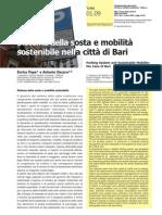 Sistema della sosta e mobilità sostenibile nella città di Bari