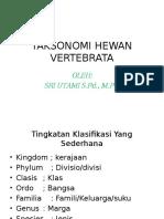 Taksonomi Hewan Vertebrata.1