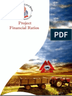 Financial Ration Analysis of Millat Tractor Limited